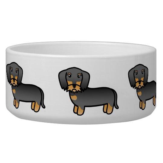 Wild Boar Wirehaired Dachshund Cartoon Dog