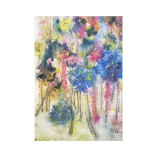 'Wild Bouquet' Canvas Print