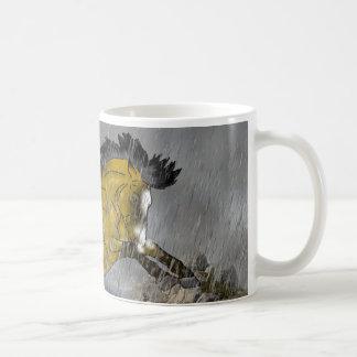 Wild Buckskin Appaloosa Horse Coffee Mug