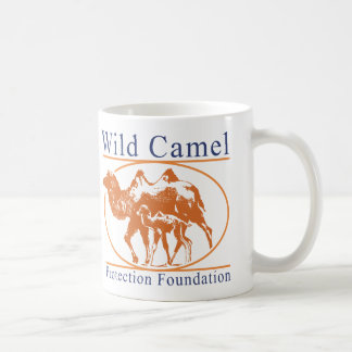 Wild Camel Protection Foundation Logo Basic White Mug