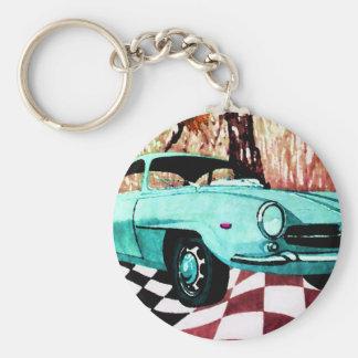 Wild Car - Alfa CricketDiane Art & Design Basic Round Button Key Ring