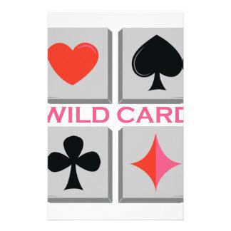 Wild Card Customised Stationery