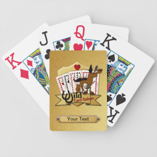 Wild Card Saloon Deck Bicycle Playing Cards