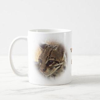 Wild Cat Basic White Mug