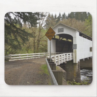 Wild Cat covered bridge, Lane County, Oregon 2 Mouse Pad