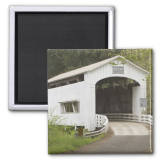 Wild Cat covered bridge, Lane County, Oregon Magnet