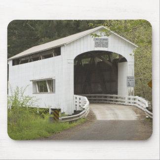 Wild Cat covered bridge, Lane County, Oregon Mouse Pad