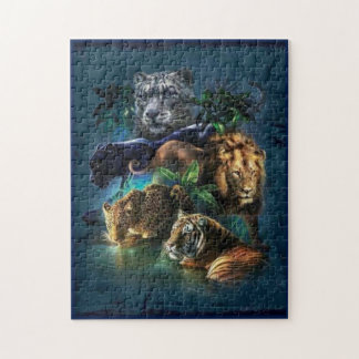 Wild Cats Jigsaw Puzzle