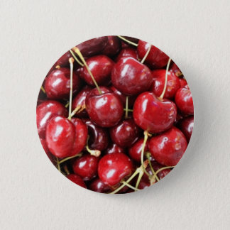Wild Cherries 6 Cm Round Badge