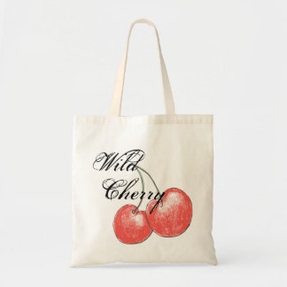 Wild Cherry Tote Bags