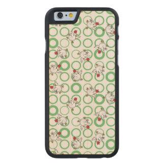 Wild Chickens Carved® Maple iPhone 6 Slim Case