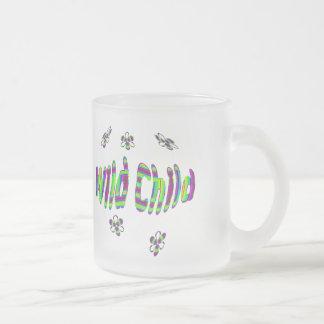 wild child 2 frosted glass mug