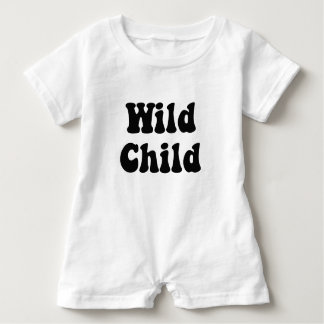 Wild Child Baby Romper Baby Bodysuit