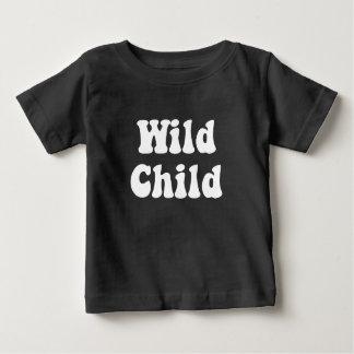 Wild Child Baby Tee Dark