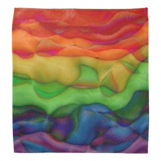 Wild Child Funky Hippy Rainbow Kerchief