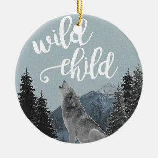 Wild Child Ornament