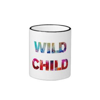 Wild Child Ringer Mug