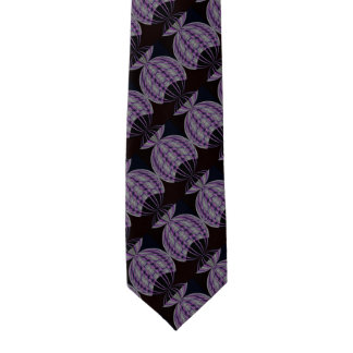 Wild Circle Purple Black Abstract