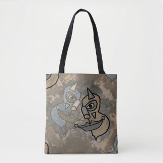 Wild Clowns Tote Bag
