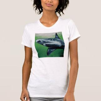 wild color Shark T-shirt