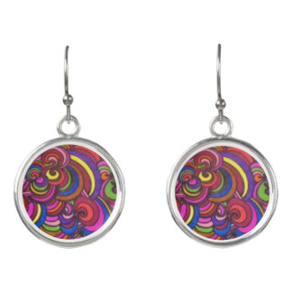 WILD, COLORFUL Earrings!! Earrings