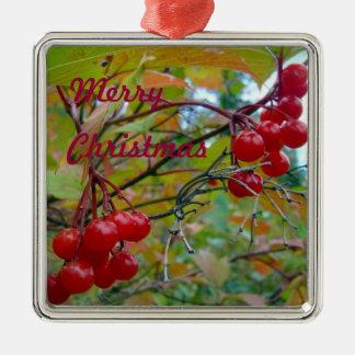 Wild Cranberries Christmas Ornament