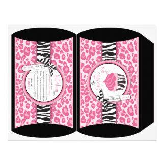 Wild Cupcake CP Puff Box Flyer Design