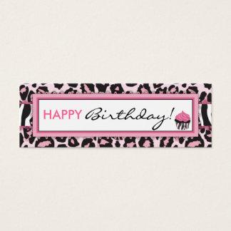 Wild Cupcake WP Skinny Gift Tag