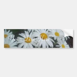 Wild Daisies Bumper Sticker