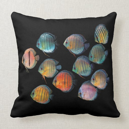 Wild Discus Pillow