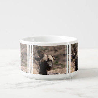 Wild Dog with Floppy Ear Small Soup Bowl With Handle
