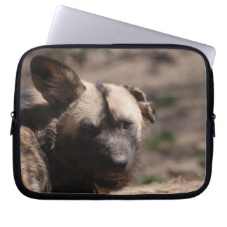 Wild Dog with Floppy Ear Computer Sleeves