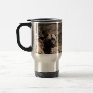 Wild Dog with Floppy Ear Coffee Mugs