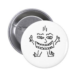 Wild DoodleNut - 6 Cm Round Badge