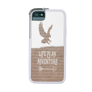 Wild Eagle Life is an Adventure Man Outdoor Sport iPhone 5 Cases