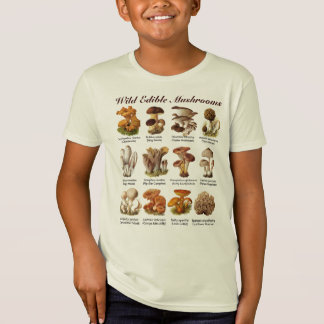 Wild Edible Mushrooms Tee Shirt