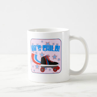 Wild Eighties Child Basic White Mug