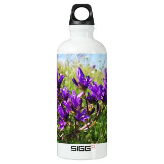 Wild elegant purple flower SIGG traveller 0.6L water bottle