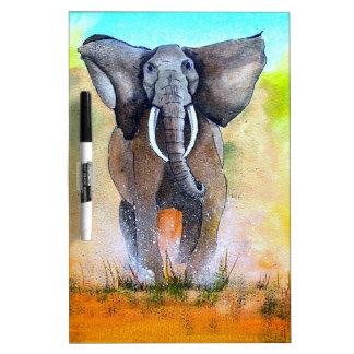 Wild Elephant Power Dry Erase Board