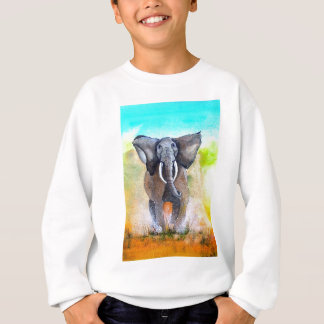 Wild Elephant Power Sweatshirt