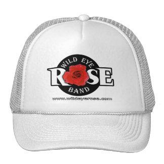 Wild Eye Rose Band Hat