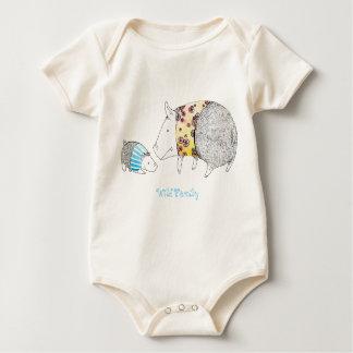 Wild family baby bodysuit