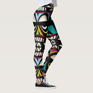 WILD Fashion Leggings--Women-Multicolored Leggings
