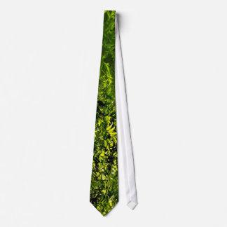 Wild Fern Abstract Tie