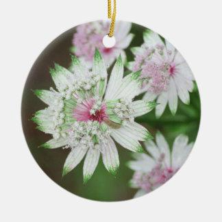 Wild Flower Alps Round Ceramic Decoration