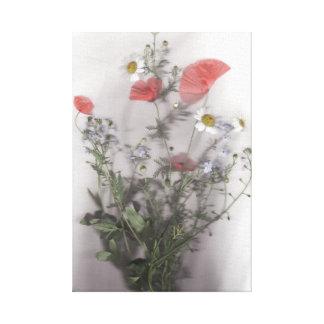 Wild Flower Bouquet Canvas Print
