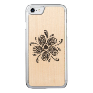 Wild Flower Carved iPhone 8/7 Case