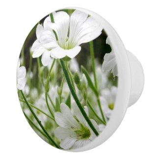 Wild Flower Ceramic Knob