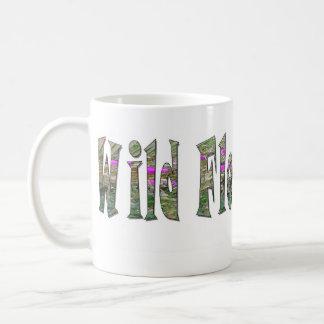 Wild Flower Child Basic White Mug
