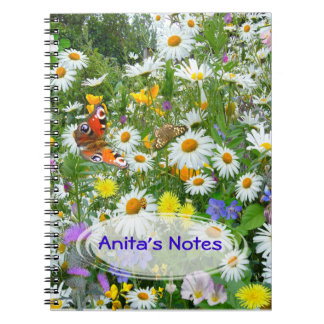 Wild Flower Meadow Notebooks